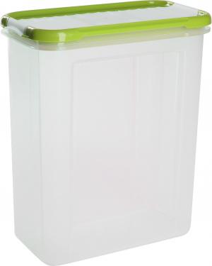 Банка для сыпучих продуктов с дозатором Bono 1,5 л оливковая роща, GR2237ОЛ