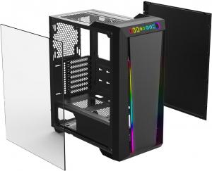ARGUS M2  стальзакаленное стеклоподсветка RGB no fans