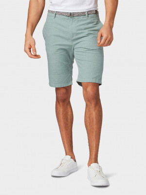 chino sh, mint slubby summer yarn dye, M