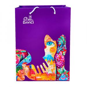 Подарочный пакет DaVICI (голубой)