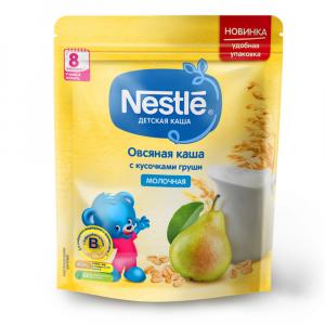 Каша Nestle молочная овсяная с грушей 220 гр