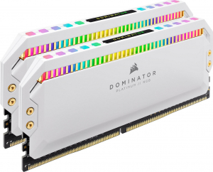 Corsair Dominator Platinum RGB Kit 16 GB 3200 MHz White