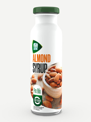 Сироп FitActive Миндаль 300мл пребиотик со стевией  (бутылка)