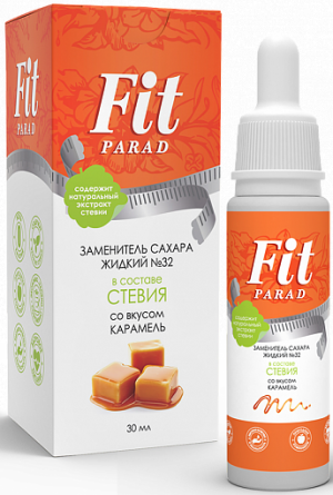 FitParad жидкий № 32 со вкусом карамели 30 мл (флакон)