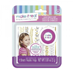 Набор игровой Make It Real Hair Deco Set Pink