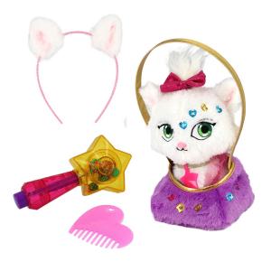 Игрушка Shimmer Stars Плюшевый котенок с сумочкой