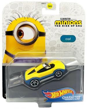 Машинка Hot Wheels Minions Character car (в ассортименте)