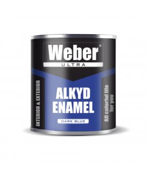 Эмаль синий WEBER