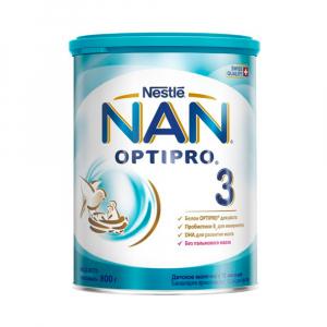 Сухая молочная смесь NAN 3 Optipro 800 гр