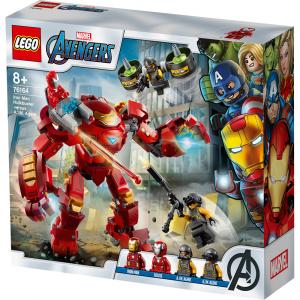 Конструктор LEGO Super Heroes Халкбастер против агента