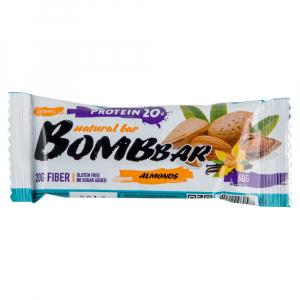 Протеиновый батончик Bombbar Миндаль-ваниль