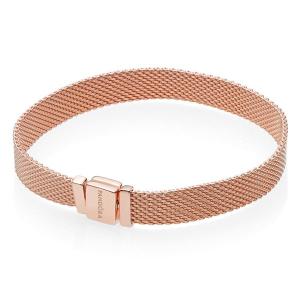 PANDORA Reflexions bracelet in PANDORA Rose