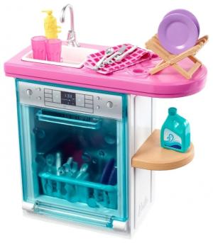 Игровой набор Barbie Кухня Отдых дома