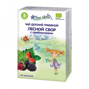 "Чай Fleur Alpine ""Лесной сбор с пребиотиками"" 30 гр"
