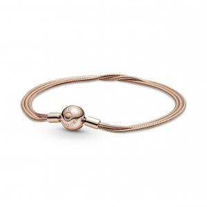 Multi snake chain Pandora Rose bracelet