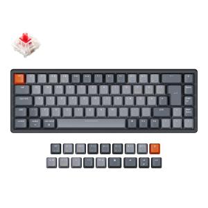 Keychron K6 Aluminum Frame 68 keys, Gateron Red, Hot-Swap, RGB